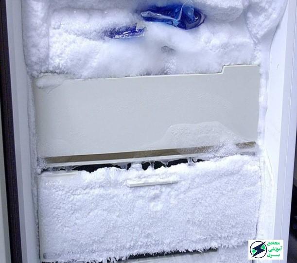 چگونه درب یخ زده فریزر را باز کنیم