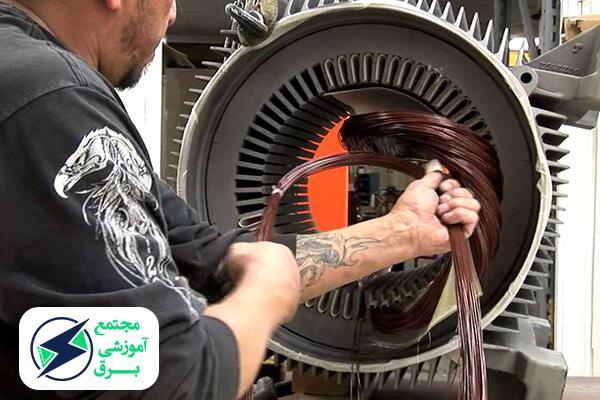 بازار کار سیم پیچی موتور در ایران