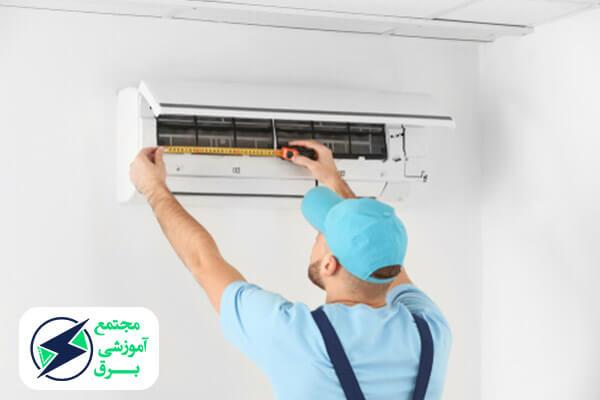 طریقه نصب و راه اندازی کولر گازی