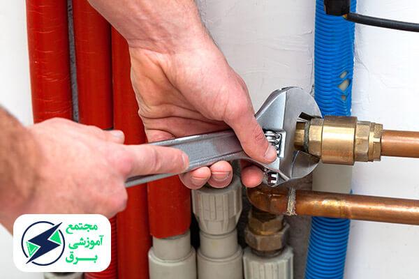 اصول لوله گذاری در سیم کشی ساختمان
