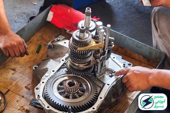 آموزش تعمیر گیربکس خودرو