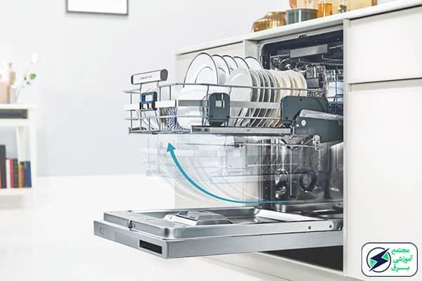 علت خشک نکردن ماشین ظرف شویی